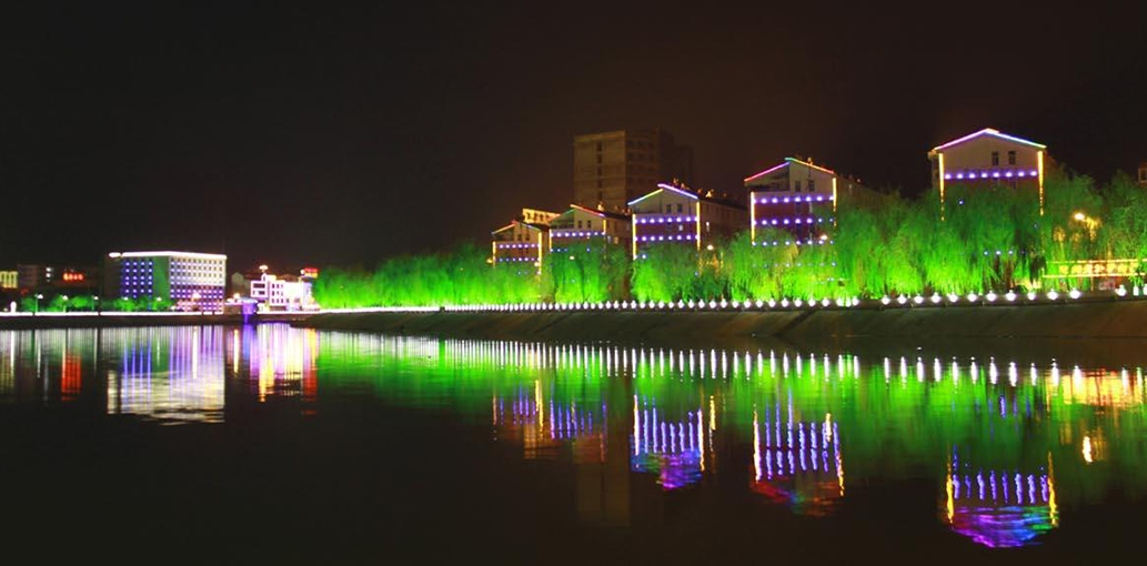 Hangzhou Xixi Wetland lighting project